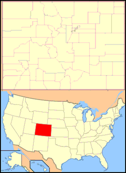 Bedrock, Colorado is located in Colorado