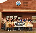 Colorado Springs Boy Scout Troop 27 200th anniversary Weather Forecast Office in Pueblo, Colorado.jpg