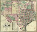 Colton's new map of the state of Texas - the Indian Territory and adjoining portions of New Mexico, Louisiana, and Arkansas LOC 2001622092.jpg