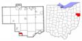 Columbiana County Ohio Highlight Salineville.png