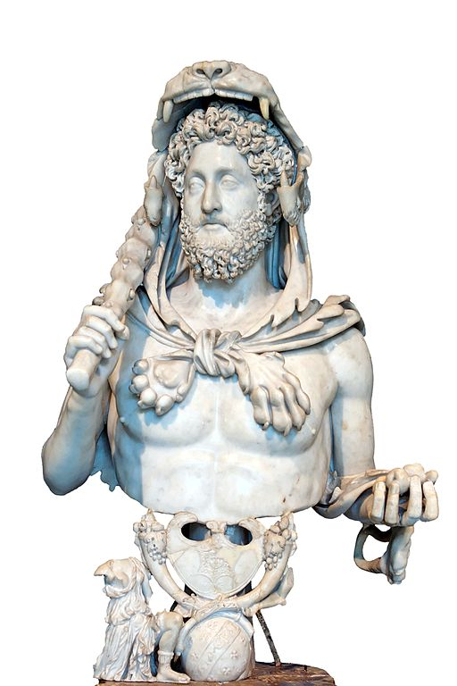 Commodus Musei Capitolini MC1120-white