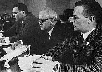 Communist Party of Sweden (1967) - KFML press conference in Malmö, 1967