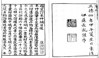 Compendium of Materia Medica