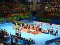 Competições de voleibol sentado no Riocentro.jpg