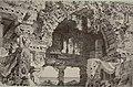 Complotto. Rovine d'un tempio sulle rive del Teuta presso il mare, bozzetto di Carlo Ferrario per Sieba (1879) - Archivio Storico Ricordi ICON012268.jpg