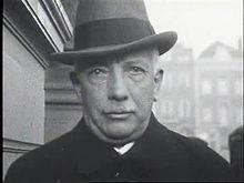 Strauss in Amsterdam, Filmsequenz von 1924 (Quelle: Wikimedia)