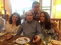 Con Philip Roth, Mary Kate e Marina Sagoma, settembre 2017.jpg