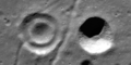 Concentric crater and usual crater in Lavoisier.png