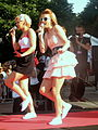 "Concert of Dziewczyny during IV Meeting Of Fans of the TV Series ""M jak miłość"" in Gdynia 2010 - 06.jpg"