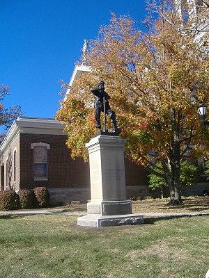 Confederate Memorial in Nicholasville - Image: Confederate Memorial in Nicholasville 3