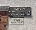 Conflans-sur-Anille - plaque de cocher route de la Barre.jpg