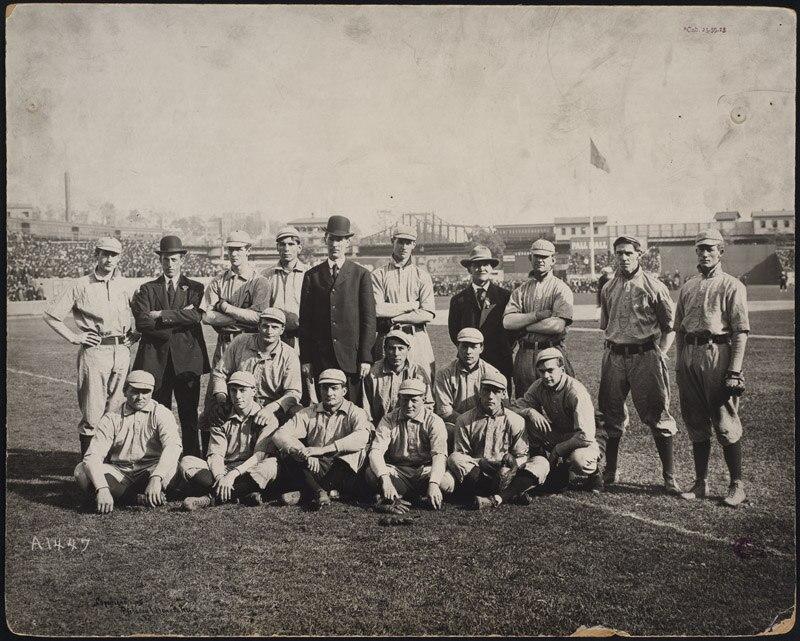 Connie Mack and the Philadelphia Athletics, 1905 World Series