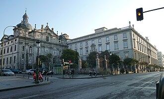 Convent of the Salesas Reales - Image: Convento de las Salesas Reales (Madrid) 02
