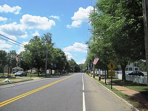 New Hanover Township, New Jersey - Cookstown, an unincorporated community within New Hanover Township