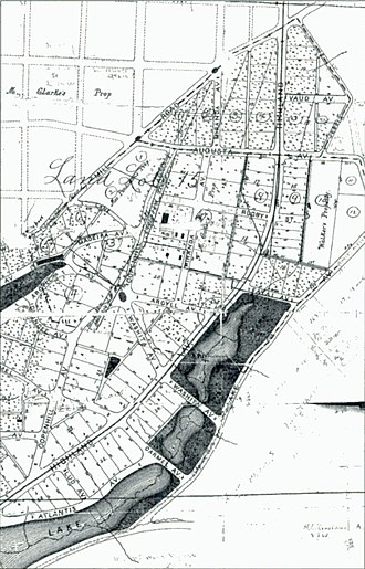 Copenhill - Plan for Copenhill Park, 1887