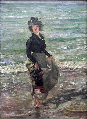 Lower Saxony State Museum - Lovis Corinth, Paddel-Petermannchen (his nickname for his wife).