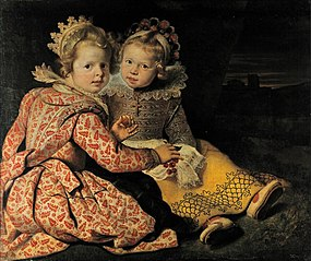 Magdalena and Jan-Baptist de Vos, the children of the painter