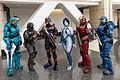 Cortana and her Master Chiefs (13954933029).jpg
