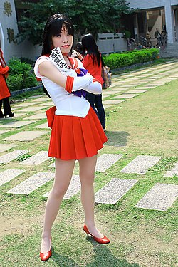 Cosplayer of Sailor Mars 20090315.jpg
