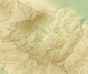 Costa Rica Cartago relief map.png