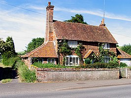 Een cottage in Hampstead Norreys