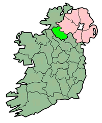center Map highlighting County Fermanagh