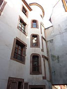 photographie d'une cour intérieure de la Vieille-Ville de Belfort