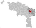 Courcelles Hainaut Belgium Map.png