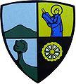 Court Saint Etienne Wappen an der Maison Communale.JPG