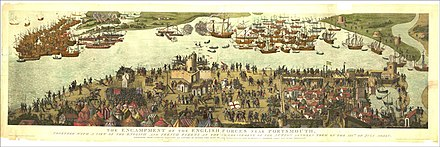 July 18 - July 19: Battle of the Solent Cowdray engraving-full-lowres.jpg
