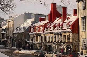Old Quebec - Old Quebec in winter time