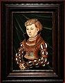 Cranach il vecchio, ritratto della principessa margherita di sassonia, xv secolo.jpg
