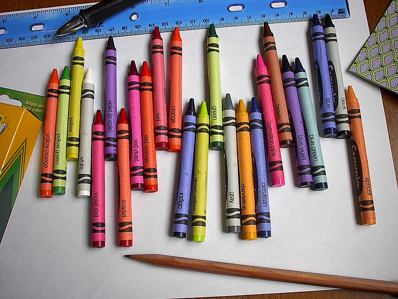 Purple Crayon Waterfall