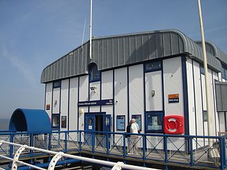 Cromer Lifeboat Station - Entrance to lifeboat station.