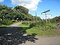 Crossroads at Fawcett Hill - geograph.org.uk - 935597.jpg