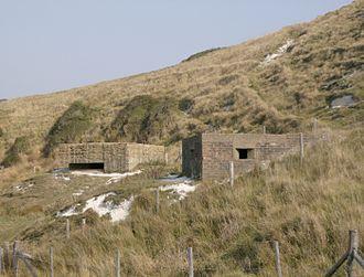 Cuckmere Haven - World War II defences at Cuckmere Haven