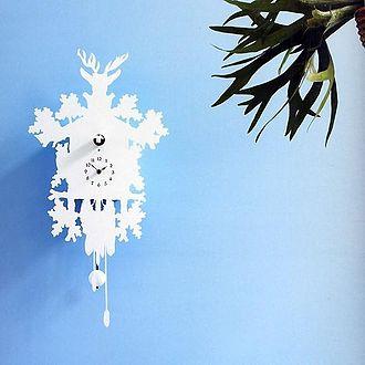 Designer - Designer cuckoo clock by Pascal Tarabay.