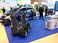 Cuerpo Nacional de Policía, Robot AUNAV en el estand, TEDAX, Homsec 2015, Madrid, España.jpg
