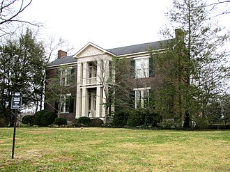 Cullum Mansion - The Cullum Mansion in 2010