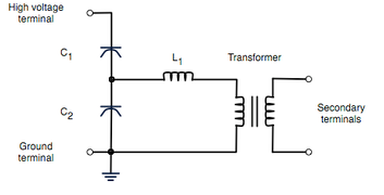 capacitor voltage transformer wikipedia rh en wikipedia org AC Motor Wiring Diagram AC Motor Wiring Diagram
