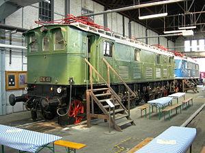 DB Museum, Koblenz - DRG Class E 16