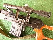 DCB Shooting Romanian PSL scope detail