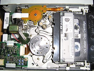 Digital Data Storage - DDS Streamer inside