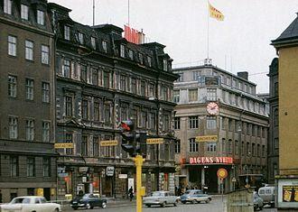 Dagens Nyheter - Image: DN Klara 1964