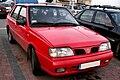 Daewoo-FSO Polonez Caro Plus - red (Jasło, front view).jpg