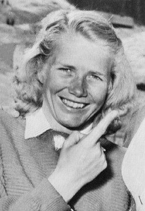 Dagmar Rom - Dagmar Rom at the 1950 World Championships