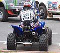 Dakar 2010 - Marcos Patronelli en su quad (251) en BsAS antes de partir (2).jpg