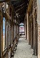 Damaged corridor of Omar Hayat Mahal.jpg