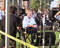 Dartmouth College campus - Democratic Presidential Candidates Debate 17 - Chris Matthews (cropped).JPG