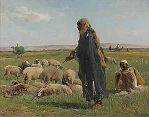 David Bates - Arab shepherds
